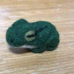 羊毛カエル1